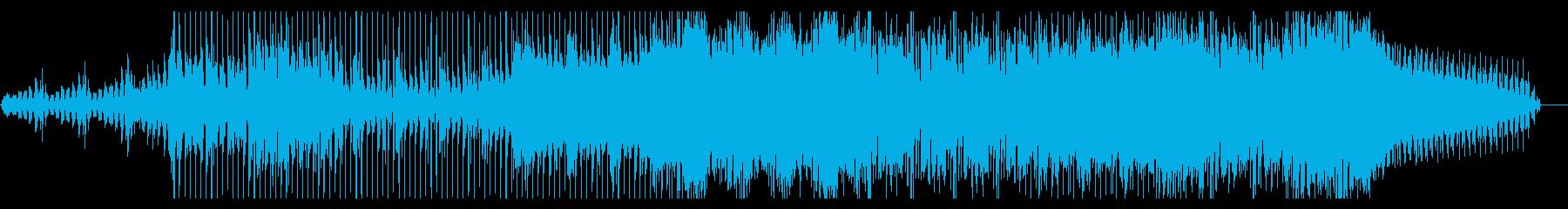 ダーティーなモジュラーテクノの再生済みの波形