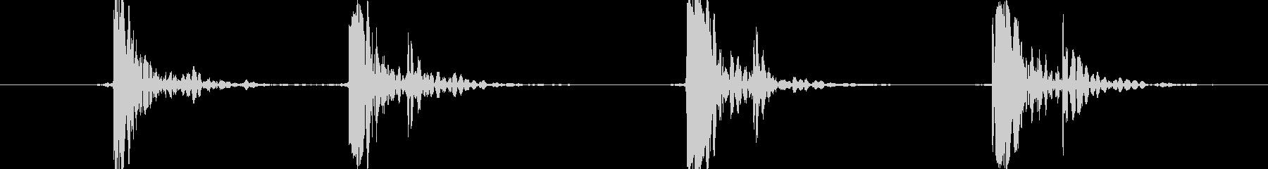 ジェネリックパンチコンボ、ボクシングの未再生の波形