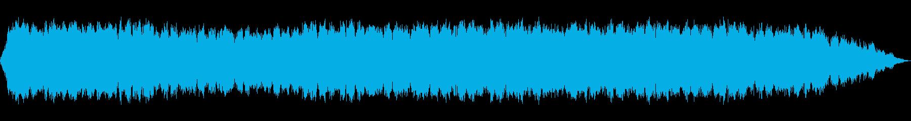 生演奏のケーナの切ない雰囲気のメロディーの再生済みの波形