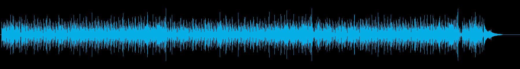 流麗かつ聡明感のあるアコースティックの再生済みの波形