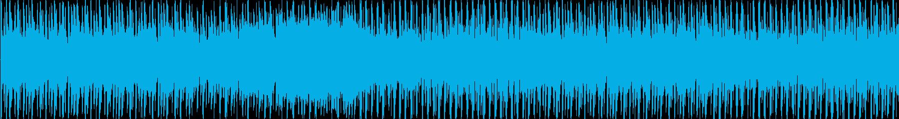 バトルシーンや慌ただしい場面で使えそう…の再生済みの波形