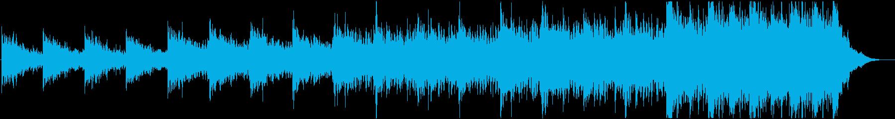 緊迫感のあるシネマティック曲 2-3の再生済みの波形