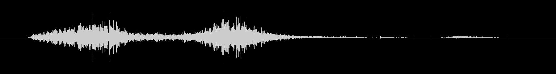 火 トーチヒューシュフラッターロング03の未再生の波形