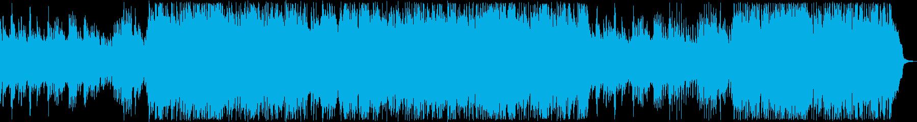 ピアノの音色が心地よい優しいバラードの再生済みの波形