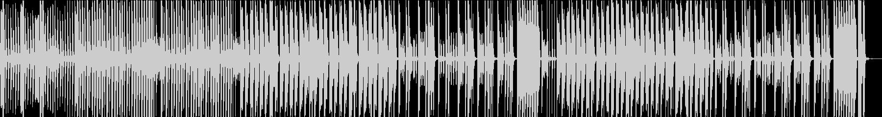 コミカル、チープな感じの日常BGMの未再生の波形