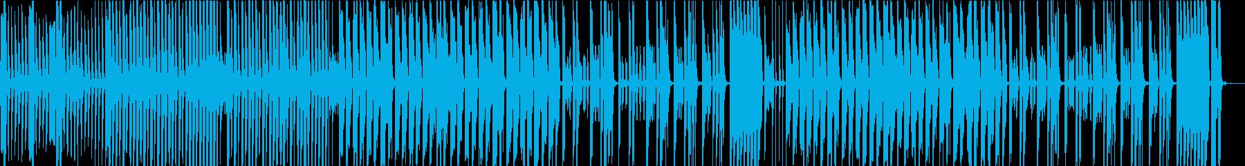 コミカル、チープな感じの日常BGMの再生済みの波形