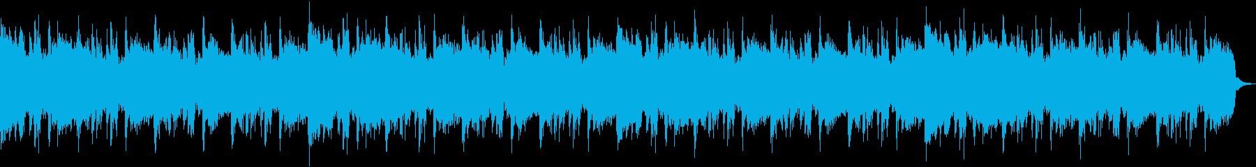 重厚なギターサウンドのロック/インストの再生済みの波形