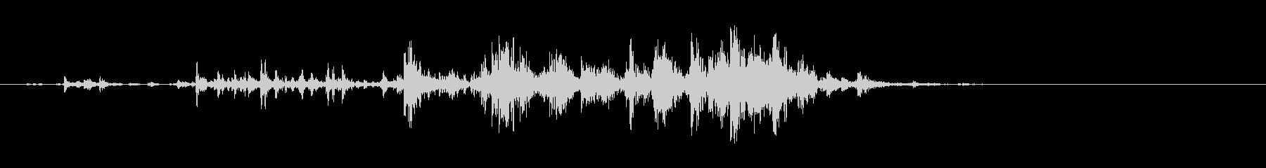 食べる音07(ポテトチップスなど)の未再生の波形
