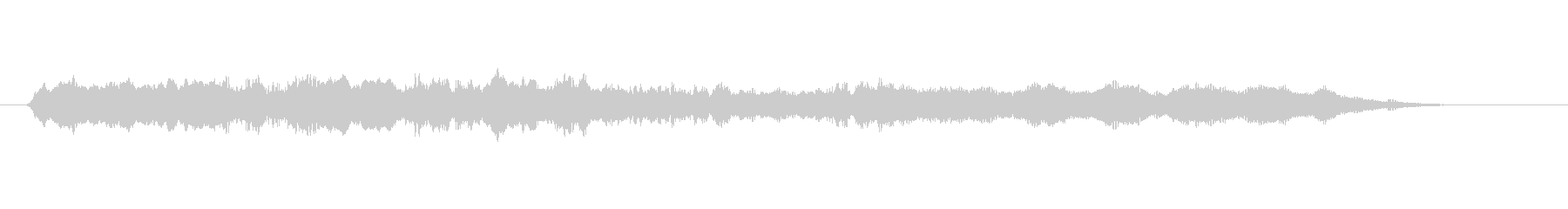 暗いイメージの声のアイキャッチの未再生の波形
