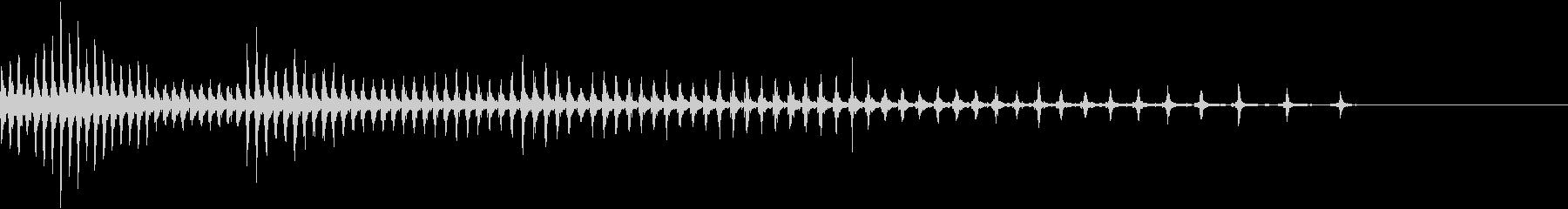 点火エンジン-の未再生の波形