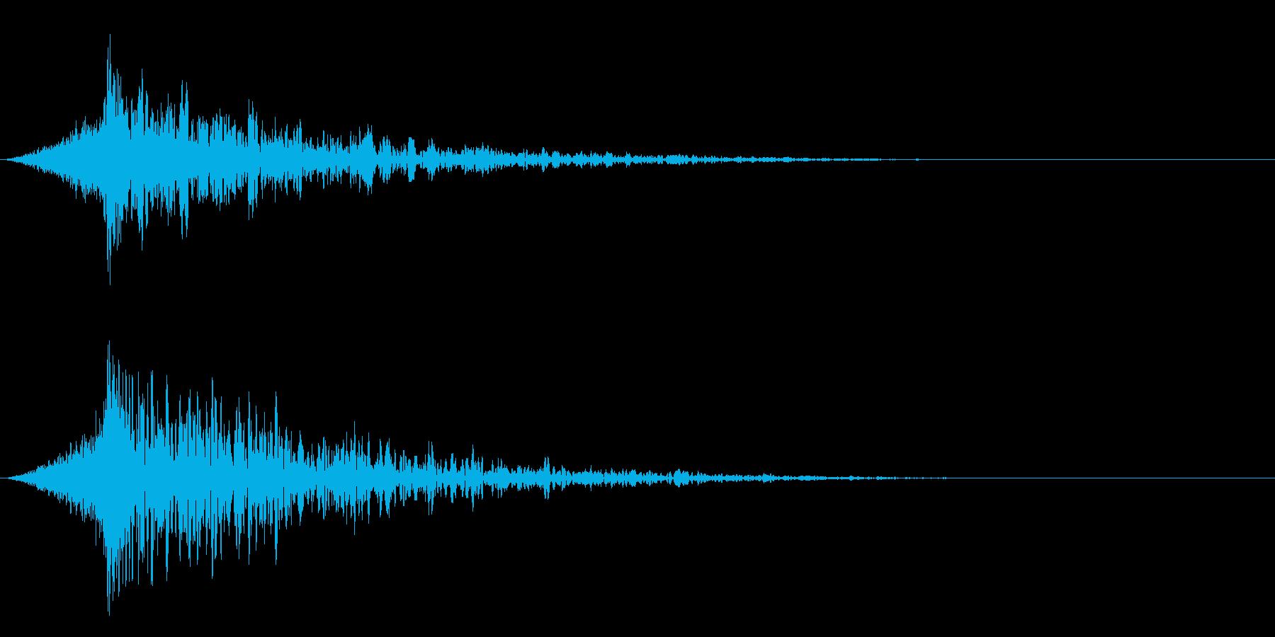 シュードーン-19-4(インパクト音)の再生済みの波形