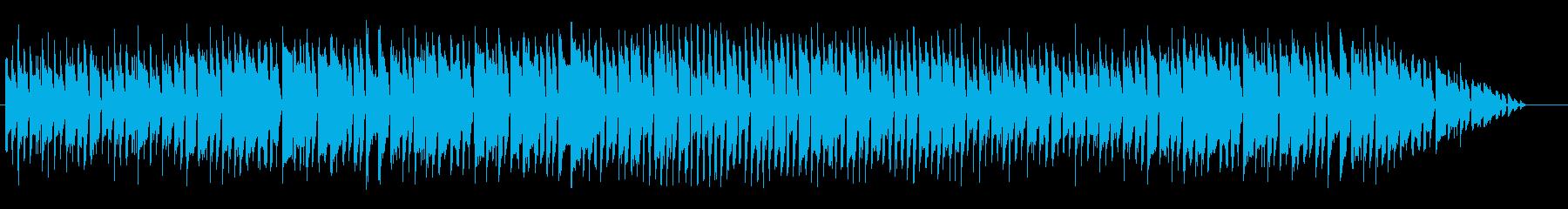 コミカルなポップなマーチの再生済みの波形