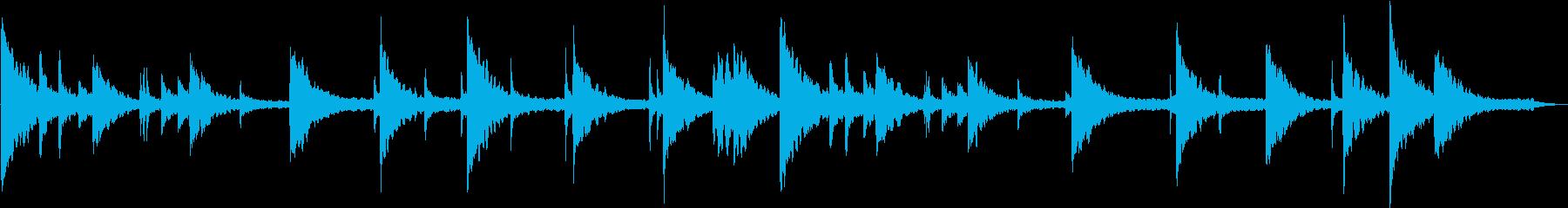 思い出話をしたくなるイメージで作りまし…の再生済みの波形