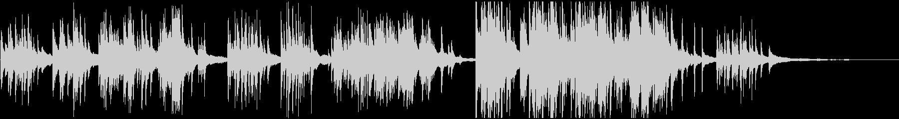 室内楽 感情的 バラード ピアノの未再生の波形