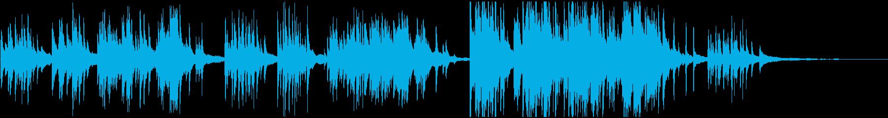 室内楽 感情的 バラード ピアノの再生済みの波形