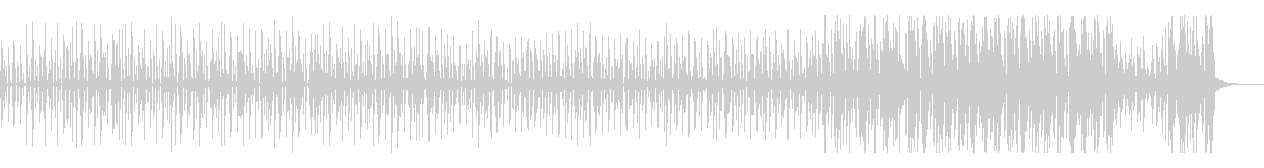 木琴・ボンゴのとにかく不思議なほのぼのの未再生の波形