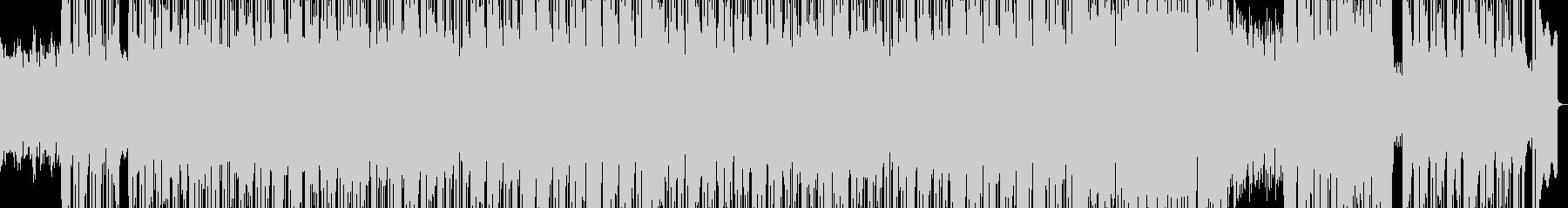 和風な雰囲気のR&Bポップバラードの未再生の波形