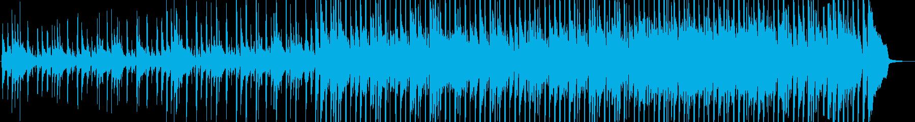 明るい 元気づける フォーク の再生済みの波形