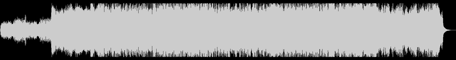 尺八をモチーフとしたメタルの未再生の波形
