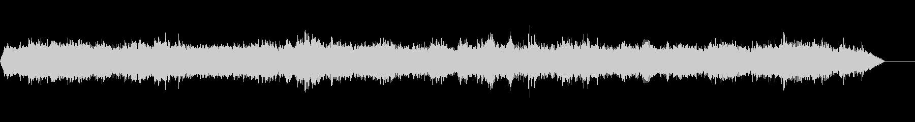 駅のプラットフォームの未再生の波形