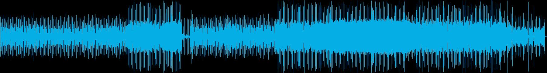 ファンクとロックギターのリフ。プリ...の再生済みの波形