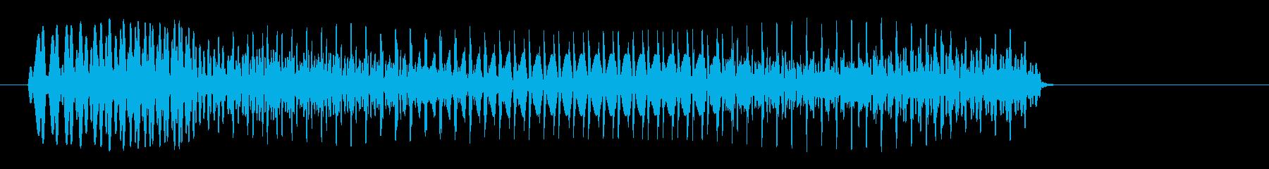 ポワァン(コミカル)脱力系の再生済みの波形