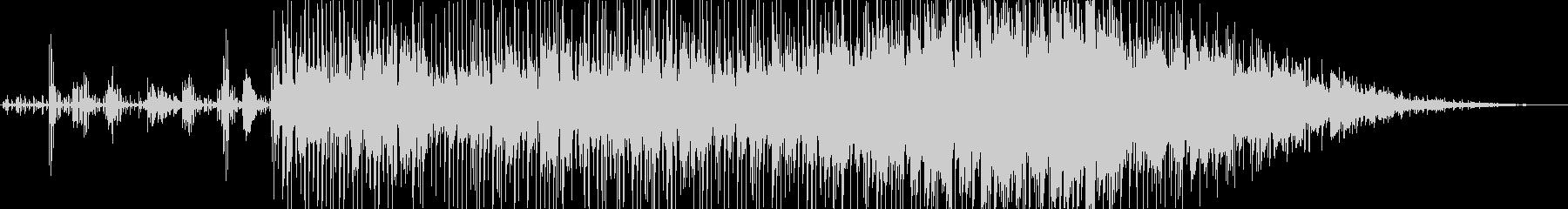アーバン、パワフル、反復的。コード...の未再生の波形