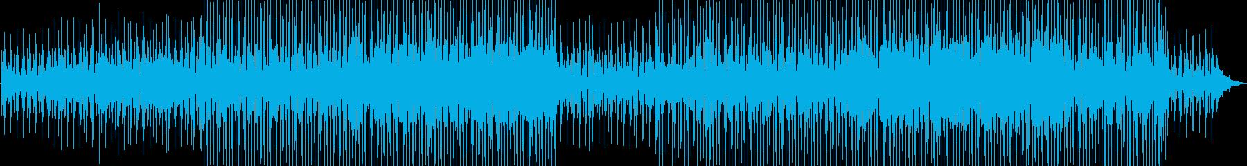 ラテンリズムでのピアノエーテル飛行...の再生済みの波形