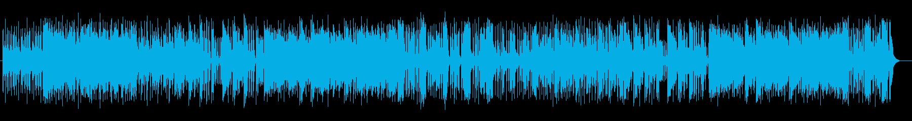 疾走感溢れるメロディの格好いいポップスの再生済みの波形