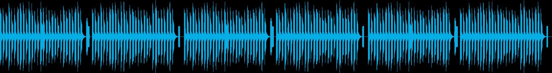 ファミコン風アクションゲームの再生済みの波形