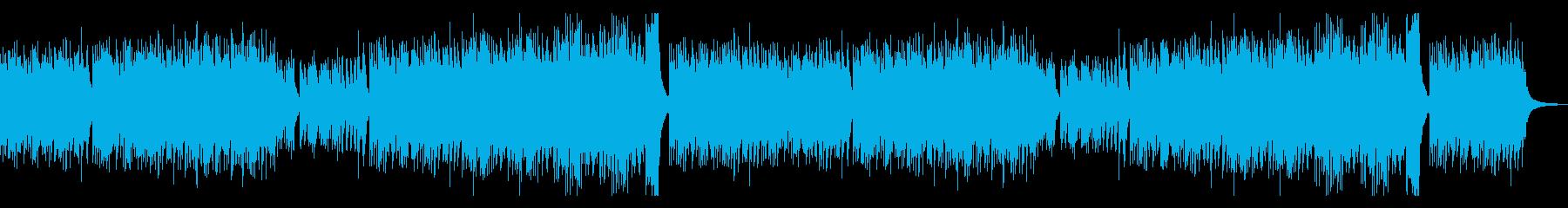 美しいく明るいメロディのピアノ 曲ロングの再生済みの波形