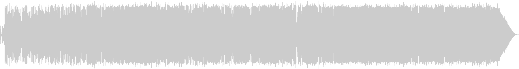 Triple time mellow love song's unreproduced waveform