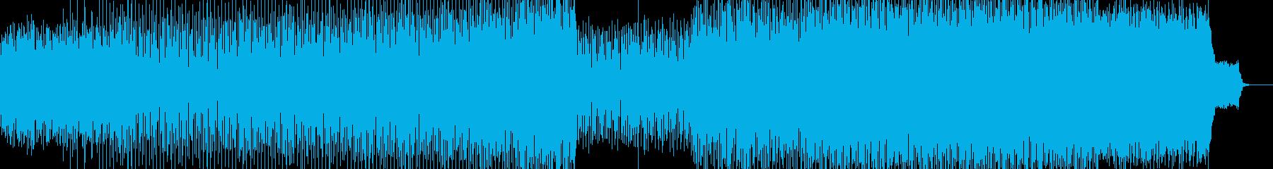 エンドロールに合うテクノバラードの再生済みの波形