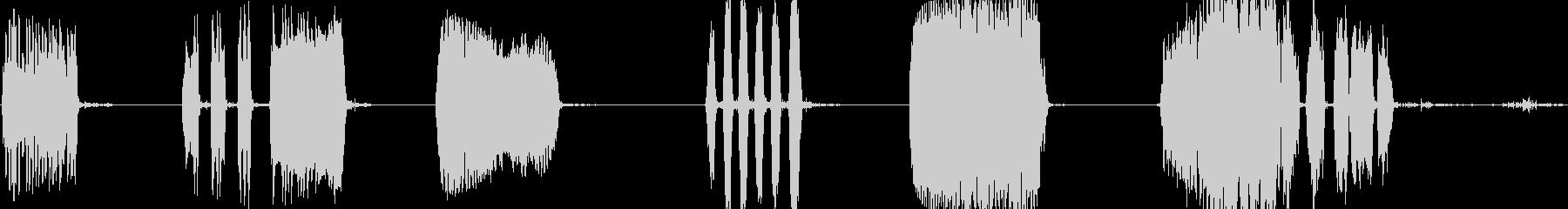 審判:ホイッスルブロー;いくつかの...の未再生の波形