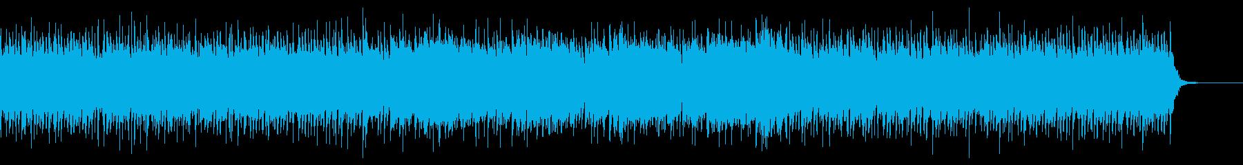 爽やかな和風曲の再生済みの波形