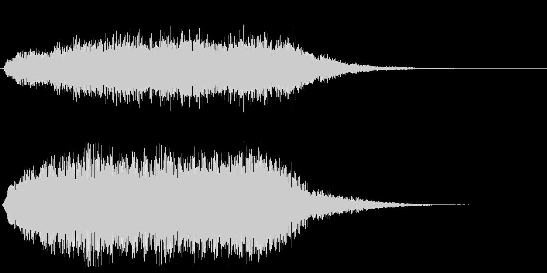 ホラー系効果音_パイプオルガンの未再生の波形