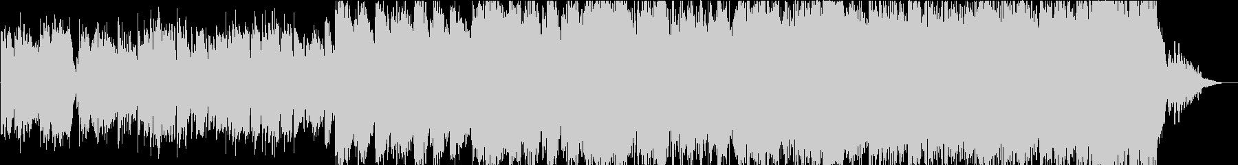 目覚めの朝のケーナの音楽の未再生の波形