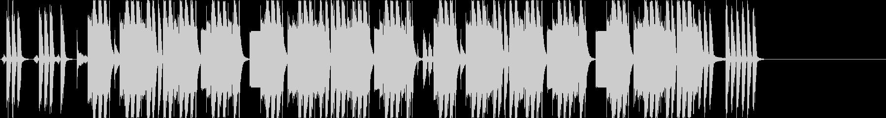 透明感溢れるFutureBass/EDMの未再生の波形
