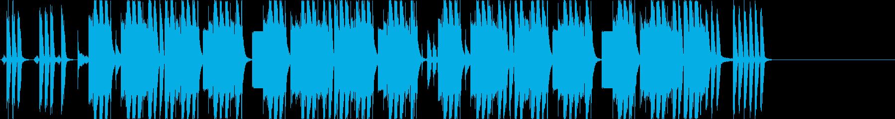 透明感溢れるFutureBass/EDMの再生済みの波形
