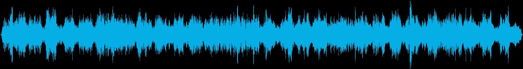変化する共鳴スペースドローン、スペ...の再生済みの波形