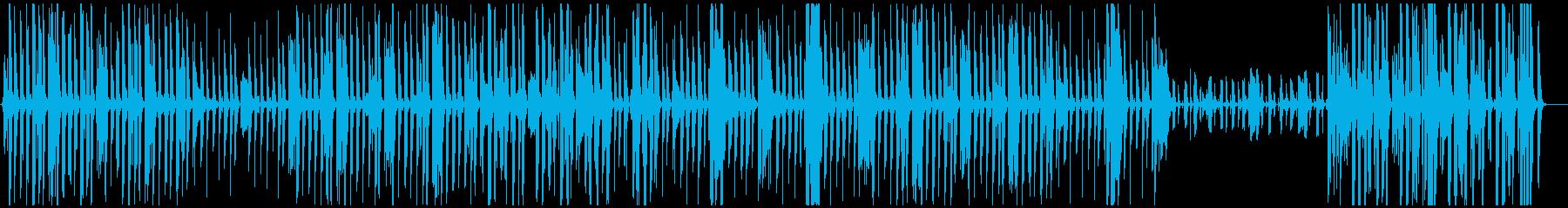 明るくかわいいほのぼの曲 口笛生録音の再生済みの波形
