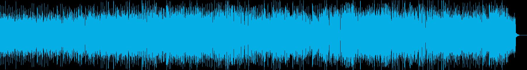 激シブなオルガンスローブルースの再生済みの波形