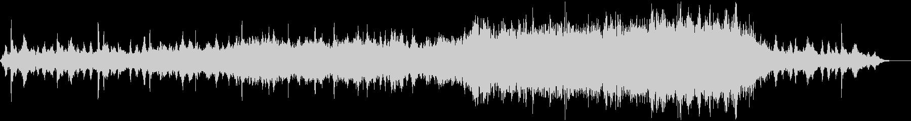 スペースファンタジー向けBGMの未再生の波形