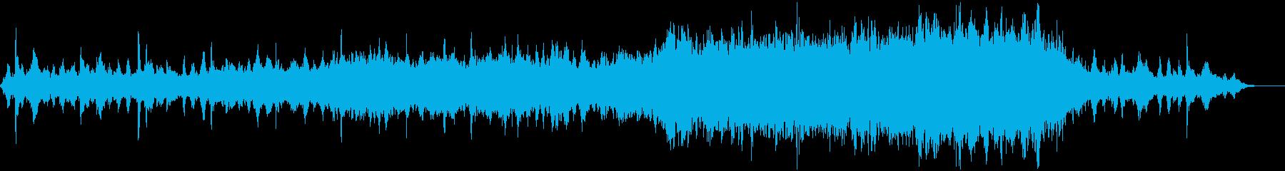 スペースファンタジー向けBGMの再生済みの波形