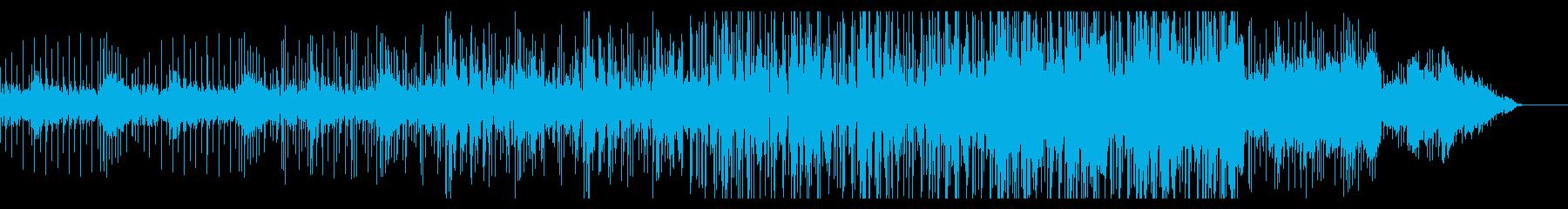 不気味で緊迫感のあるエレクトロニカの再生済みの波形