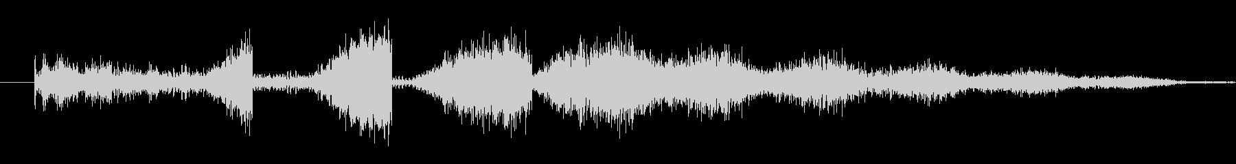 スペーススキャナーまたはコミュニケ...の未再生の波形