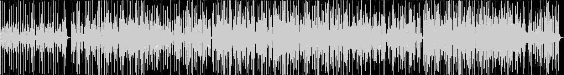 オシャレなジャズファンク風インストの未再生の波形
