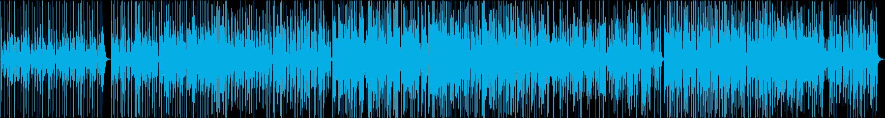 オシャレなジャズファンク風インストの再生済みの波形