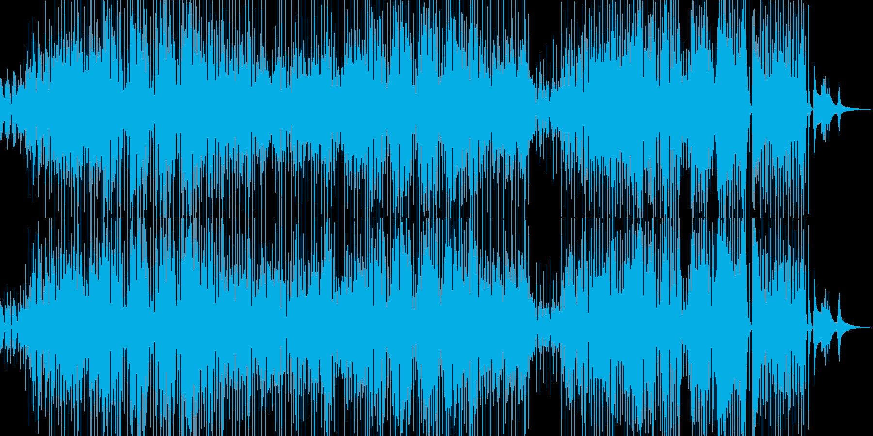 コミカルでユーモラスなジャズの再生済みの波形