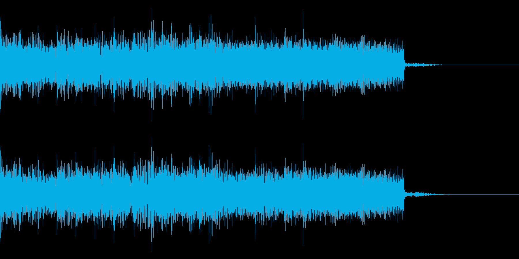 ハードロック、メタル系の場面転換 の再生済みの波形